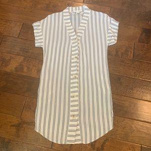 Melissa Nepton Dress Size XS Pockets V Neck
